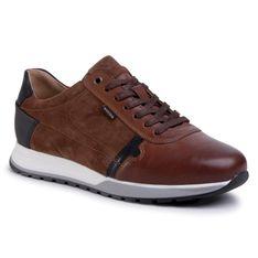 Sneakersy WOJAS - 10021-73  J.Brąz/Czarny