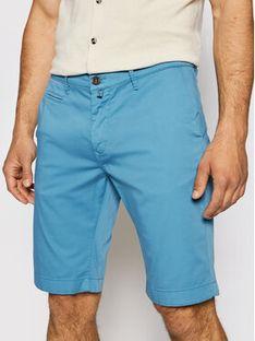 Pierre Cardin Szorty materiałowe 3465/000/2080 Niebieski Bermuda Fit