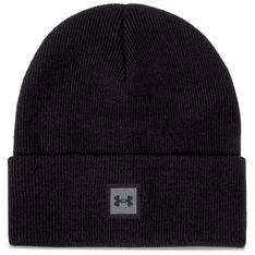 Czapka UNDER ARMOUR - Truckstop Beanie 1356707-001 Black