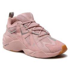 Sneakersy ARKK COPENHAGEN - Tuzon Suede W13 CR6501-0307-W Misty Rose Light Gum