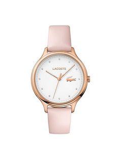 Lacoste Zegarek Constance 2001087 Różowy