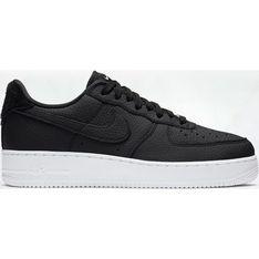 Buty sportowe męskie Nike air force czarne na wiosnę