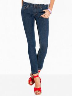 Niebieskie spodnie jeansowe L`AF WISH