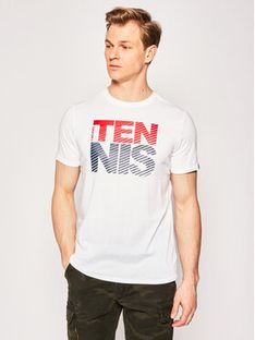 Head T-Shirt Club Chris 811429 Biały Regular Fit