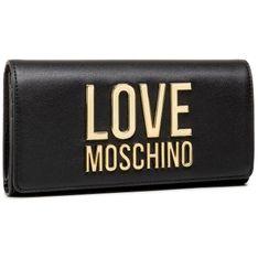 Duży Portfel Damski LOVE MOSCHINO - JC5614PP1CLJ000A  Nero