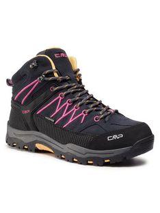 CMP Trekkingi Kids Rigel Mid Trekking Shoes Wp 3Q12944J Czarny