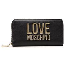 Duży Portfel Damski LOVE MOSCHINO - JC5611PP1CLJ000A  Nero