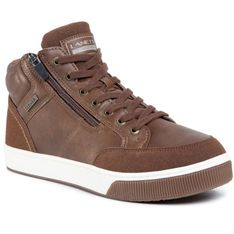 Sneakersy LANETTI - MP07-91339-01 Brown