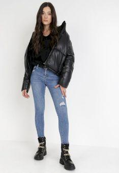 Niebieskie Jeansy Skinny Elidora