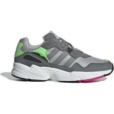 Szare buty sportowe męskie Adidas zamszowe