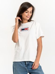 """Tommy Jeans """"Relaxed Timeless Tee"""" White"""