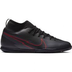 Buty piłkarskie Nike Mercurial Superfly 7 Club Ic Jr AT8153 060 czarne wielokolorowe