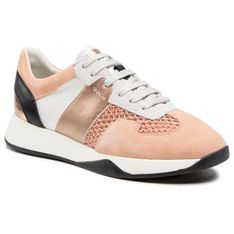 Sneakersy GEOX - D Suzzie B D94FRB 02011 C8024 Peach