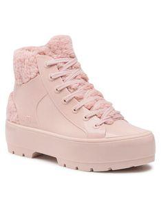 Melissa Botki Fluffy Sneaker Ad 33318 Różowy