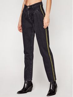 One Teaspoon Jeansy Relaxed Fit Streetwalkers 23666 Czarny Relaxed Fit