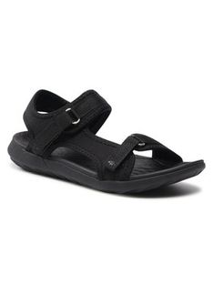4F Sandały HAL21-SAD001 Czarny