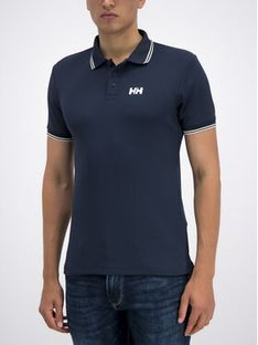 Helly Hansen Polo Kos 34068 Granatowy Fitted Fit