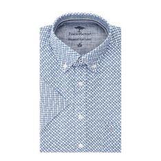 Koszula męska niebieska Fynch-hatton na wiosnę