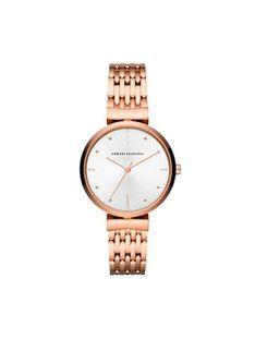 Armani Exchange Zegarek AX5901 Różowy
