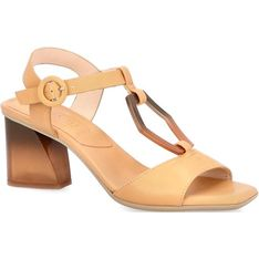 Sandały damskie Hispanitas eleganckie skórzane