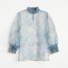 Reserved - Bluzka z autorskim printem - Wielobarwny