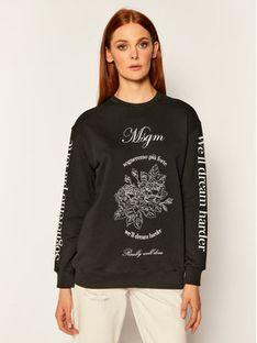 MSGM Bluza 2941MDM99 207799 Czarny Regular Fit