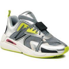 Buty sportowe męskie Diesel sznurowane na wiosnę