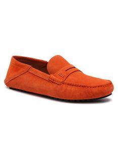 Boss Mokasyny Driver Mocc 50452248 10208864 01 Pomarańczowy