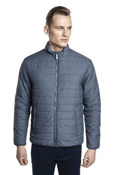 Niebieska pikowana kurtka Tennis ANDRE