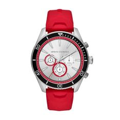 Zegarek ARMANI EXCHANGE - Enzo Chronograph AX1837 Red/Silver