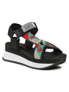Pepe Jeans Sandały Fuji Ethnic PLS90504 Czarny