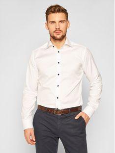 Eton Koszula 100001728 Biały Slim Fit
