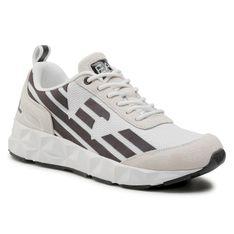 Sneakersy EA7 EMPORIO ARMANI - X8X033 XK162 N407 Opt White/Iron Gate