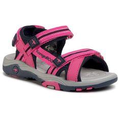 Sandały KANGAROOS - K-Leni 18335 000 6130 S Daisy Pink/Dk Navy