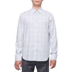 Koszula męska biała Paul Smith z długim rękawem