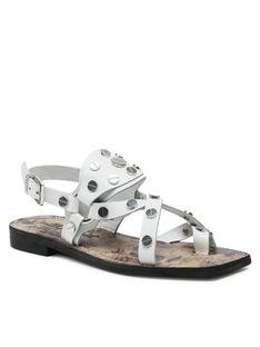 Carinii Sandały B6017 Biały