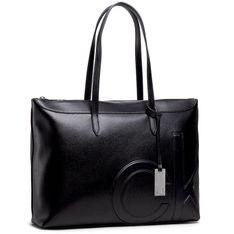 Torebka CALVIN KLEIN - Shopper Wilt Comp K60K607498 BLK