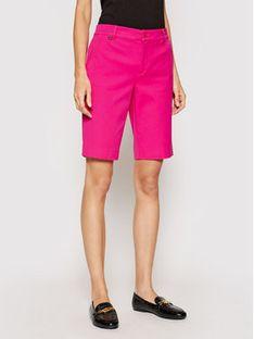 Lauren Ralph Lauren Szorty materiałowe 200831247002 Różowy Regular Fit