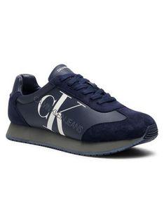 Calvin Klein Jeans Sneakersy Joele B4S0716 Granatowy
