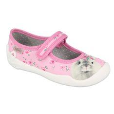 Befado obuwie dziecięce  114X457 różowe