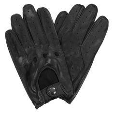 Wojas Czarne Rękawiczki Męskie