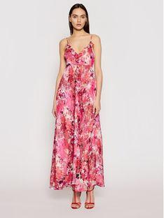 Liu Jo Sukienka letnia IA1101 T2461 Różowy Regular Fit