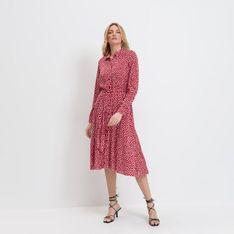 Mohito - Koszulowa sukienka Eco Aware - Czerwony