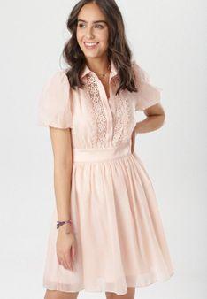 Jasnoróżowa Sukienka Jenylia
