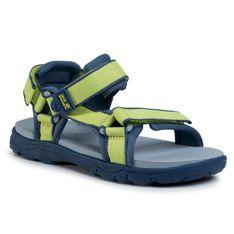 Sandały JACK WOLFSKIN - Seven Seas 3 K 4040061 S Lime/Blue