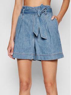 Lauren Ralph Lauren Szorty jeansowe 200831890001 Niebieski Regular Fit
