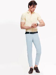 Koszula męska z tkaniny oxford o kroju slim