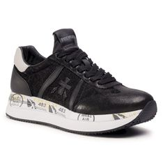 Sneakersy PREMIATA - Conny 4821 Black