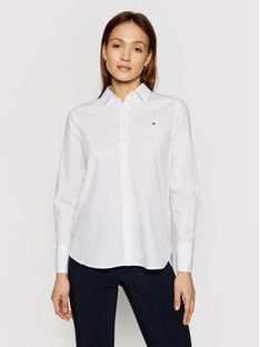 Tommy Hilfiger Koszula Monica WW0WW30513 Biały Regular Fit