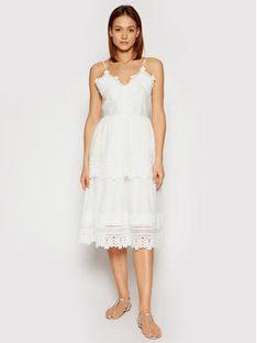 Marella Sukienka codzienna Pelago 32210312 Biały Regular Fit